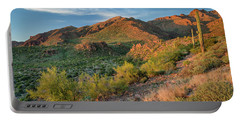 Superstitions At Dusk Portable Battery Charger by Greg Nyquist