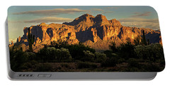 Superstitions At Sunset  Portable Battery Charger