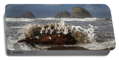Surf And Three Arch Rocks Portable Battery Charger