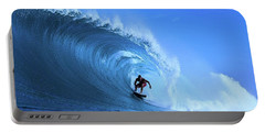 Portable Battery Charger featuring the photograph Surfer Boy by Movie Poster Prints