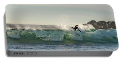 Surfer Carlsbad Jetty Portable Battery Charger