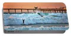 Surfer Celebration Portable Battery Charger