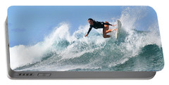 Surfer Girl At Bowls 5 Portable Battery Charger