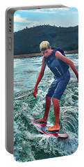 Surfer Tate Portable Battery Charger
