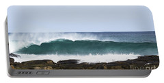 Portable Battery Charger featuring the photograph Surfers Point by Angela DeFrias
