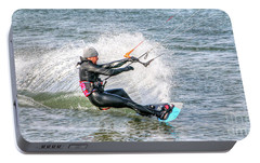 Portable Battery Charger featuring the photograph Surfing by Adrian LaRoque