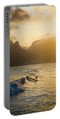 Surfing Magic Portable Battery Charger by Lana Enderle