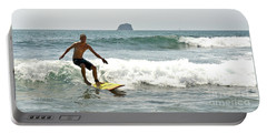 Surfing New Zealand Waves Portable Battery Charger