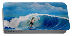 Surfing On The Waves Portable Battery Charger