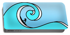 Surfing The Wave Portable Battery Charger