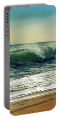 Portable Battery Charger featuring the photograph Surf's Up by Laura Fasulo