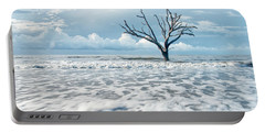 Portable Battery Charger featuring the photograph Surfside Tree by Phyllis Peterson