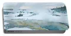 Surreal Landscape Portable Battery Charger by Gary Lengyel