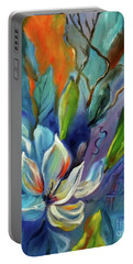Surreal Magnolias Portable Battery Charger