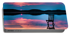 Surreal Sunset Portable Battery Charger
