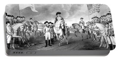 Surrender Of Lord Cornwallis At Yorktown Portable Battery Charger
