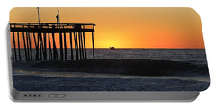 Portable Battery Charger featuring the photograph Surrounded By Sunrise by Robert Banach