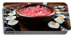 sushi Africa style Portable Battery Charger