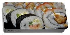 Sushi Rolls From Home Portable Battery Charger