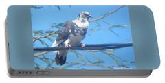 Suspicious Bird Portable Battery Charger