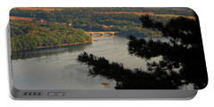 Susquehanna River Below Portable Battery Charger
