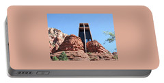 Suzannes Chapel Of The Holy Cross Sedona 3     Portable Battery Charger