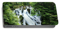 Swallow Falls Portable Battery Charger by Roger Lighterness