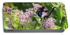 Female American Swallowtail Papilio Polyxenes Portable Battery Charger