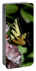 Swallow Tail On Mountain Laurel Portable Battery Charger