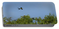 Swallow-tailed Kite Flyover Portable Battery Charger