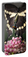 Portable Battery Charger featuring the photograph Swallowtail Departing by Mary-Lee Sanders