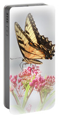 Portable Battery Charger featuring the photograph Swallowtail Splendor by Anita Oakley