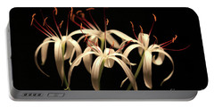 Swamp Lily Portable Battery Charger