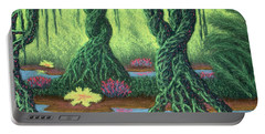 Swamp Things 02, Diptych Panel B Portable Battery Charger