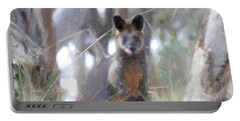 Swamp Wallaby Portable Battery Charger