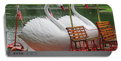 Swan Boat Boston Common Portable Battery Charger