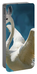 Swan Bunny Portable Battery Charger