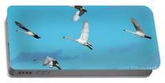 Swan Flight Portable Battery Charger by Mike Dawson