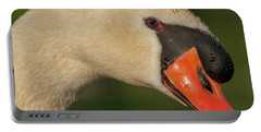 Swan Headshot Portable Battery Charger