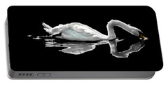 Swan Lake Nature Photo 2121a Portable Battery Charger