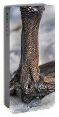 Portable Battery Charger featuring the photograph Swan Leg by Paul Freidlund