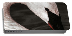 Portable Battery Charger featuring the photograph Swan Neck by Jean Noren