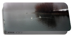 Swan Pond Portable Battery Charger