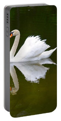 Swan Reflecting Portable Battery Charger