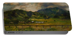 Swan Valley Hillside Portable Battery Charger