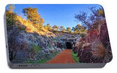 Portable Battery Charger featuring the photograph Swan View Railway Tunnel by Dave Catley