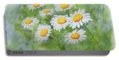 Swaying Daisies  Portable Battery Charger