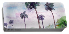 Swaying Palms Portable Battery Charger