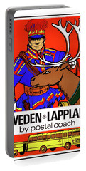 Sweden, Lapland, Postal Coach Portable Battery Charger
