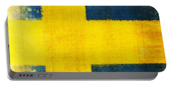 Swedish Flag Portable Battery Charger